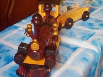 Dřevěný vláček