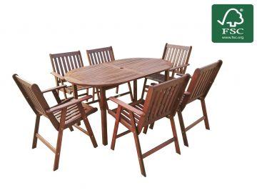 Zahradní set nábytku 6+1